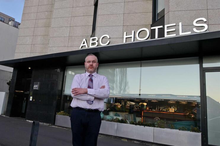 Júlio Guerra, diretor do ABC Hotel Porto