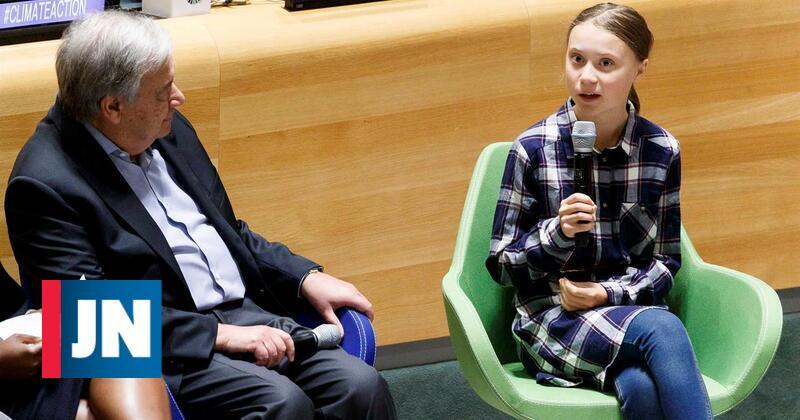 "Greta Thunberg: ""Nós, os jovens, somos imparáveis"""