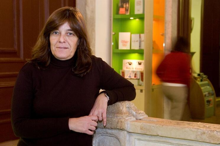 Maria José Santos, em 2008