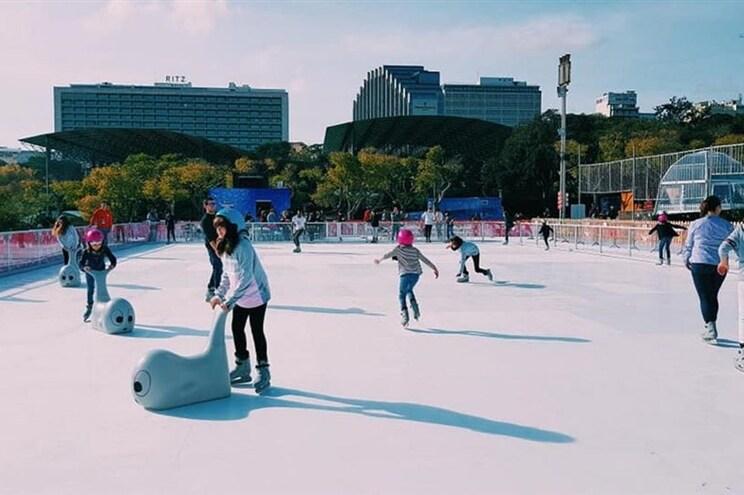 40 pistas de gelo para patinar de norte a sul do país