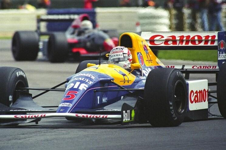 Fórmula 1 histórico de Mansell vai a leilão em Goodwood