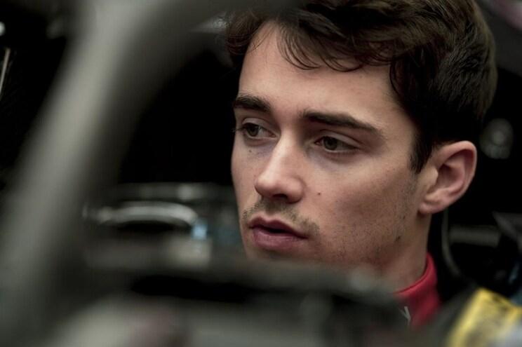 F1: Leclerc já fez banco para o Ferrari de 2019
