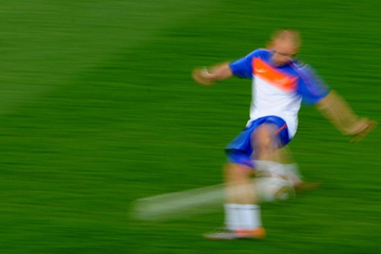 Muitas das esperanças holandesas passam por Robben