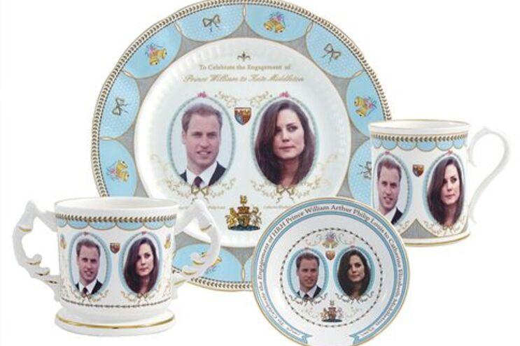 Em Inglaterra, já estão à venda produtos alusivos ao casamento