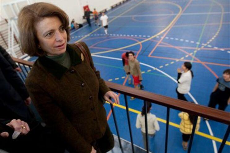 A Ministra da Educação, Isabel Alçada, visitou hoje a Escola Secundária D. Pedro V, em Lisboa
