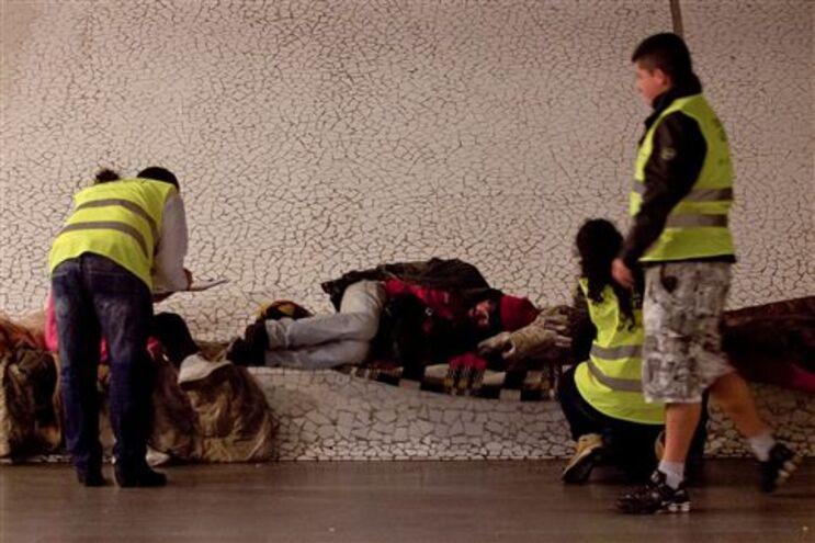 Estudo traçou perfil do sem-abrigo portugueses