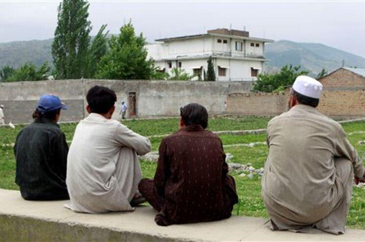 Casa onde Osama bin Laden vivia, perto da capital do Paquistão