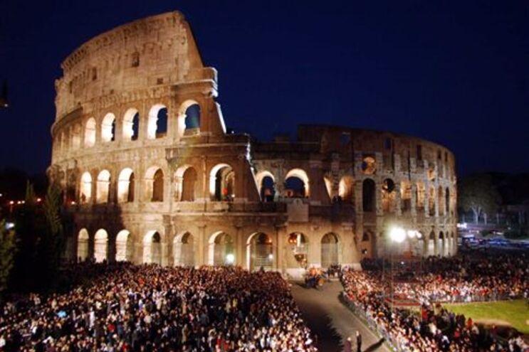 Romanos temem que a Cidade Eterna seja destruída, esta quarta-feira