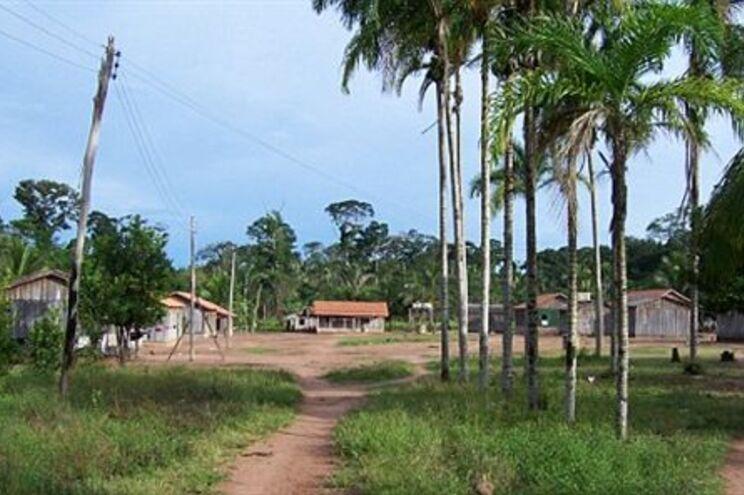 Aldeia dos Amondawa, na Amazónia