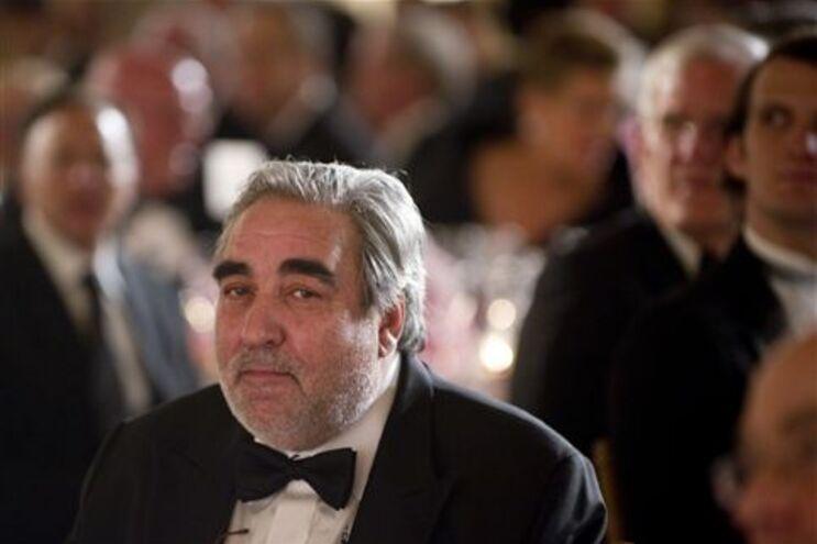 Souto de Moura na cerimónia da entrega do prémio em Washington