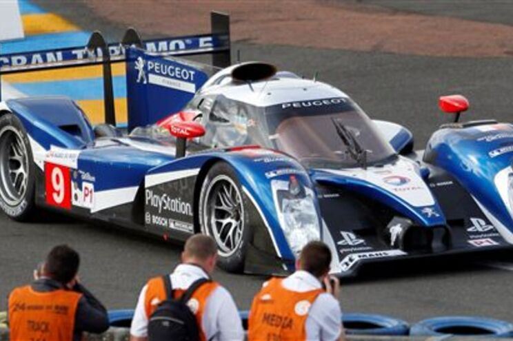 Peugeot de Lamy chegou a liderar