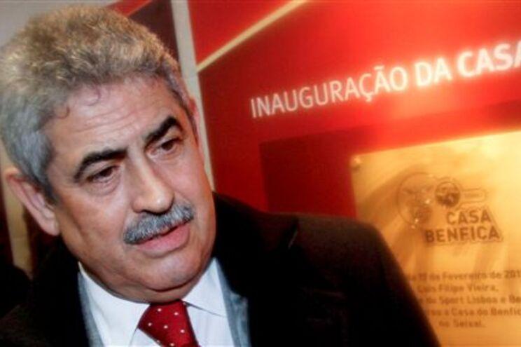 Presidente do Benfica revoltado com apatia diante do Sporting