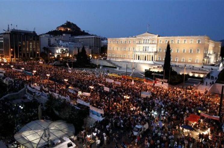 "Protesto foi convocado pelo movimento dos ""indignados"""