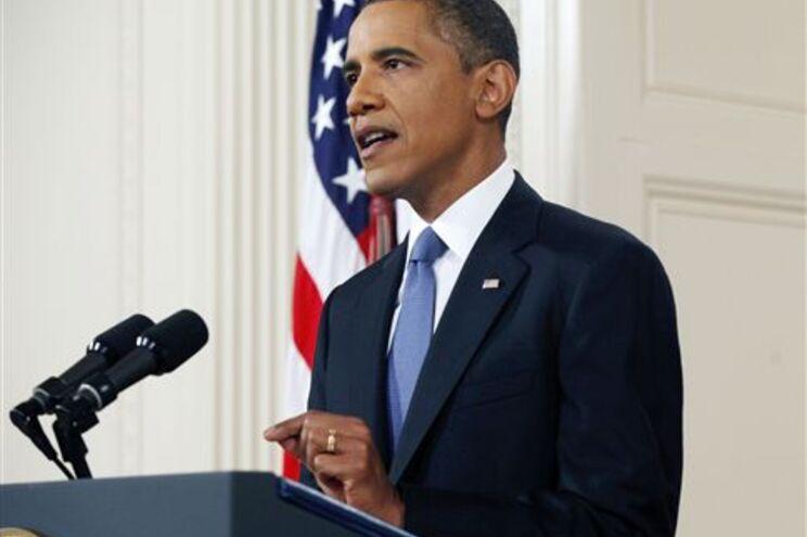 Obama no seu discurso à nação