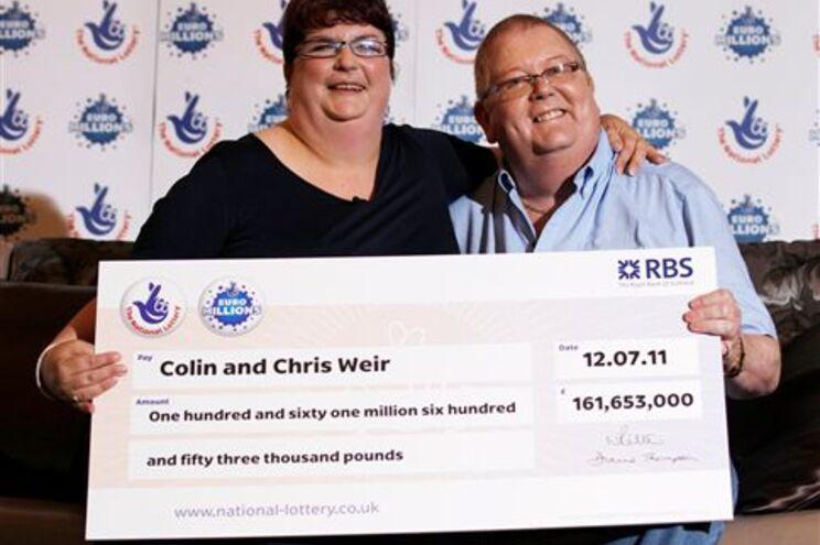Colin e Christina Weir