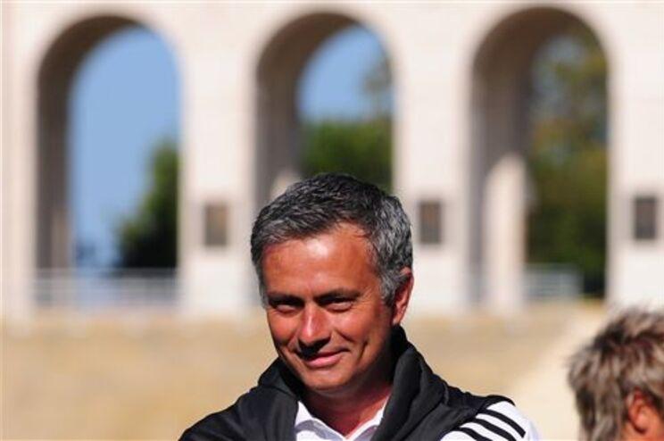 Mourinho está com o Real Madrid em Los Angeles