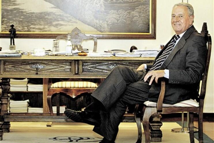 Américo Amorim, o homem mais rico de Portugal, viu a fortuna crescer 18,2% em relação a 2010