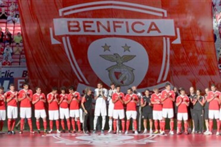Novo plantel do Benfica