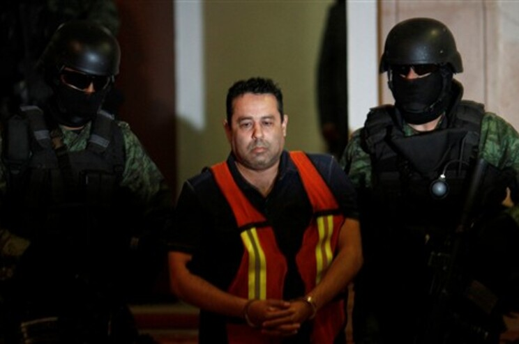 """Um dos responsáveis financeiros do cartel de droga """"Zetas"""""""