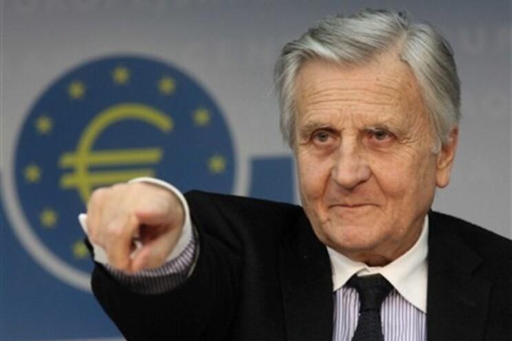 Presidente do BCE, Jean-Claude Trichet