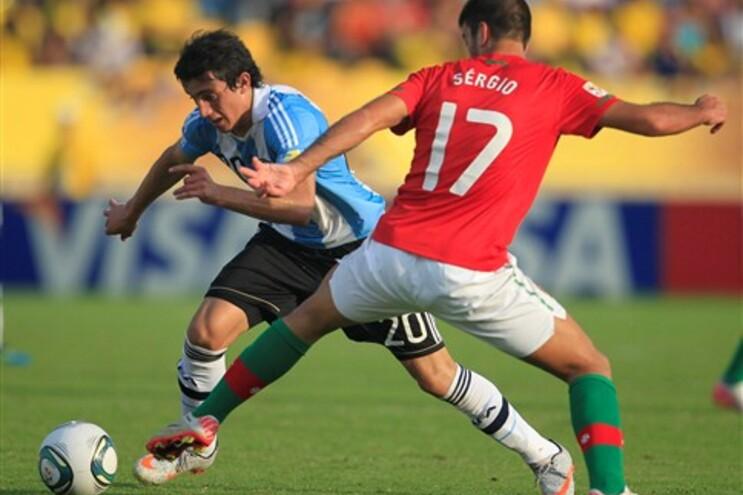 Portugal vence Argentina e está nas meias-finais do Mundial de Sub-20