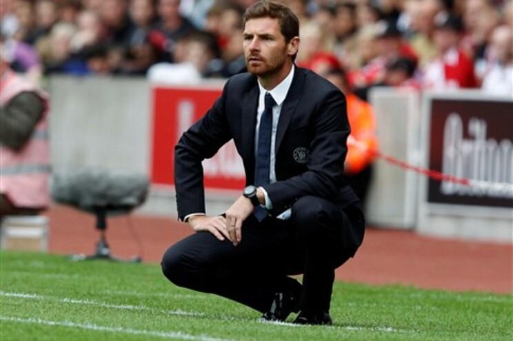 Villas-Boas não foi feliz na sua primeira partida na Liga Inglesa