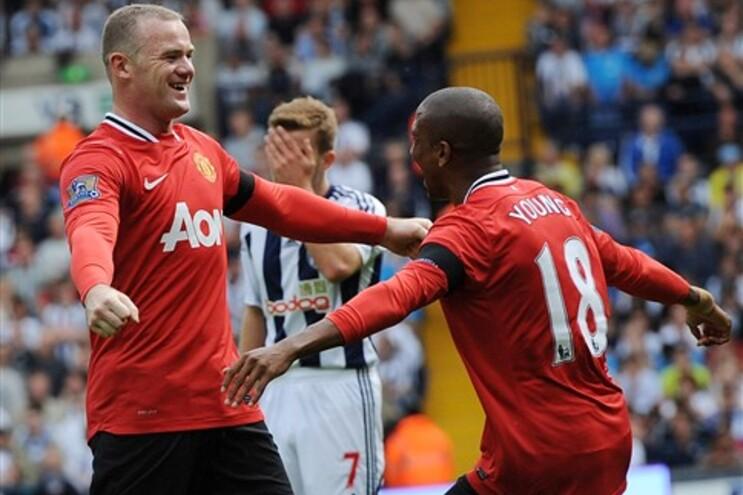 Manchester United iniciou liga com uma vitória frente ao West Bromwich Albion