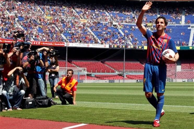 """Fabregas agradeceu a presença de 20 mil adeptos no regresso a """"casa"""""""