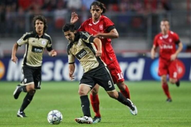 Cardozo e Nolito foram os autores dos golos da equipa portuguesa