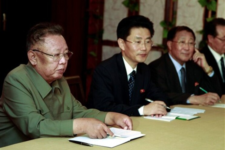 Conversações entre a delegação norte-coreana e a delegação russa