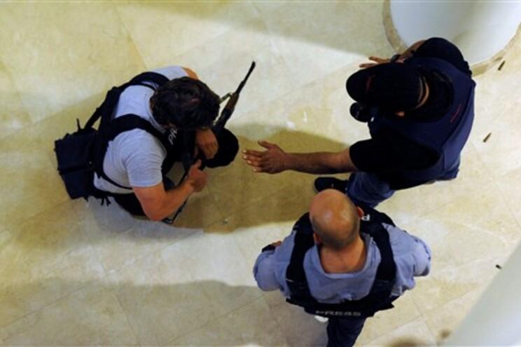 Quatro jornalistas italianos raptados na Líbia
