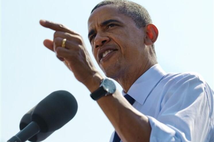 Barack Obama recandidata-se a um novo mandato, nas eleições de Novembro de 2012