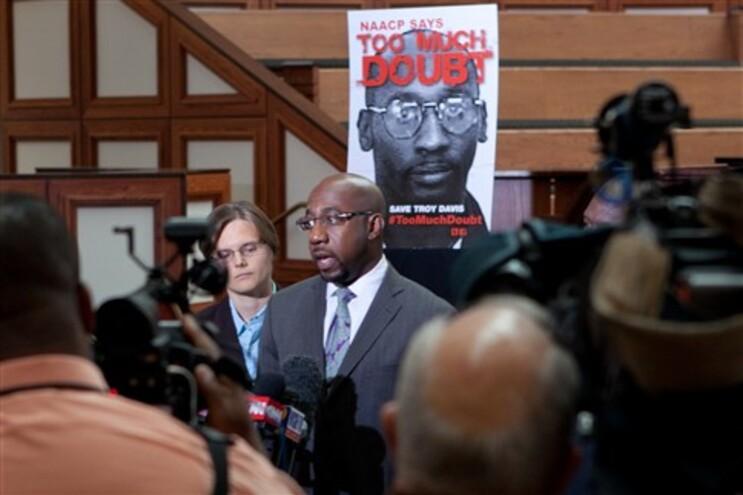 Justiça mantém pena capital para Troy Davis