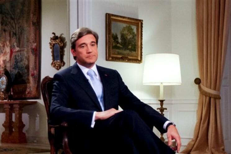 Primeiro-ministro Pedro Passos Coelho deu entrevista à RTP1