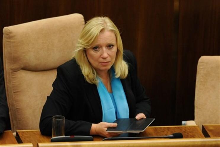 Primeira-ministra da Eslováquia, Iveta Radicova
