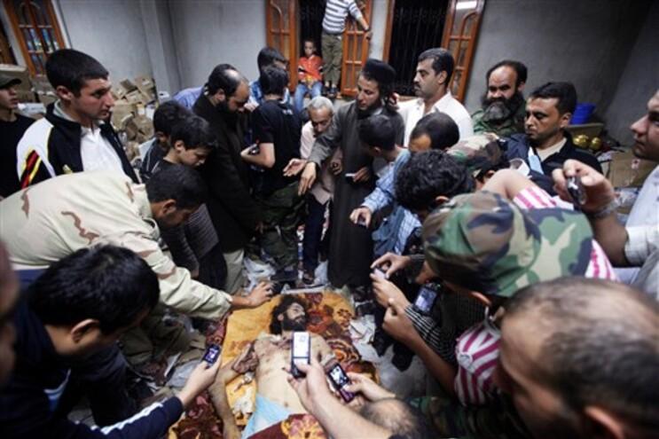 Motassim Kadafi, um dos filhos do antigo ditador, foi também morto durante o ataque