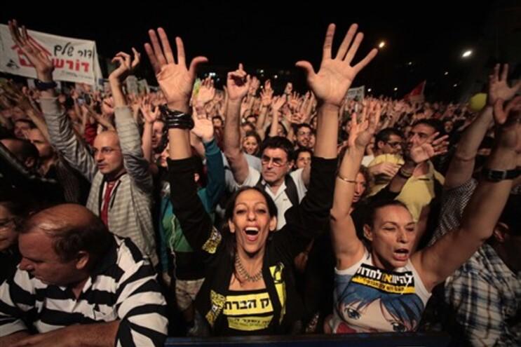 Manifestantes continuam onda de protestos sem precedentes em Israel