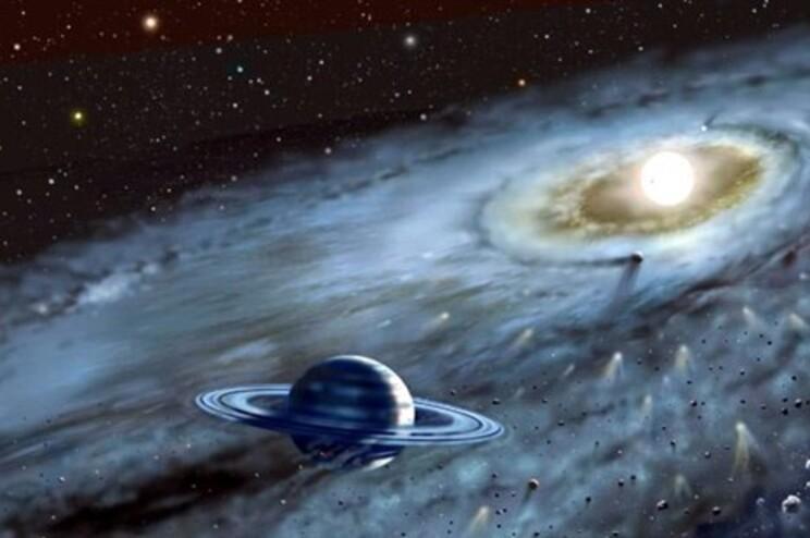 Os cientistas acreditam que entre triliões de estrelas exista um planeta com vida