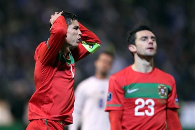 Portugal não conseguiu marcar em Zenica