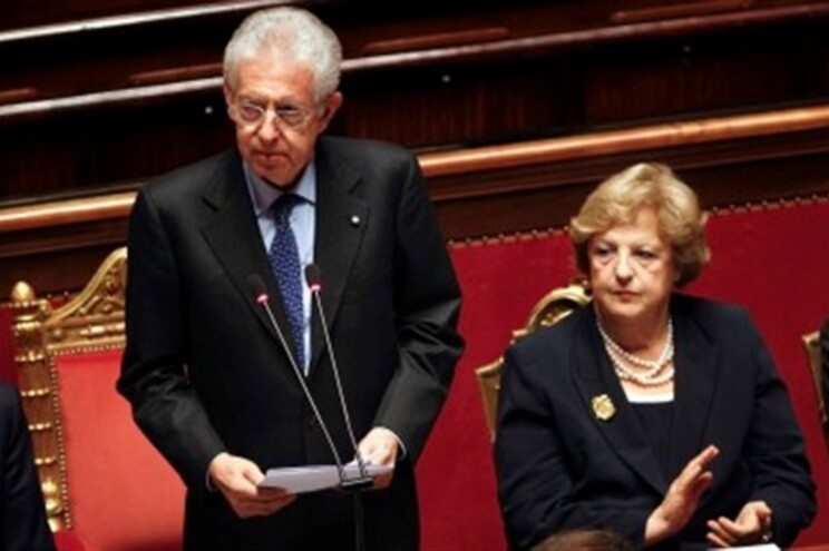 "Mario Monti prometeu ""rigor, crescimento e equidade"""