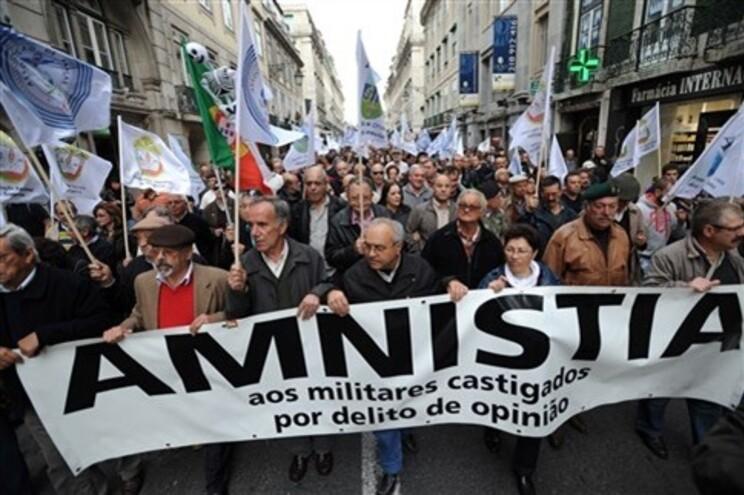 Protesto a 12 de Novembro reuniu dez mil militares