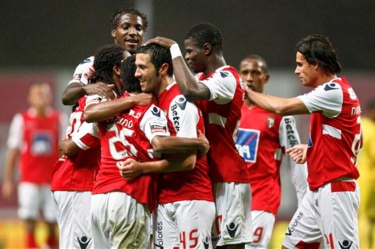 Equipa do Braga já está na Bélgica