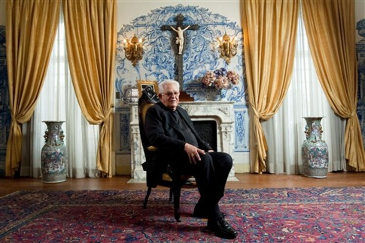 José Policarpo presidiu esta tarde a uma cerimónia na Sé Patriarcal de Lisboa