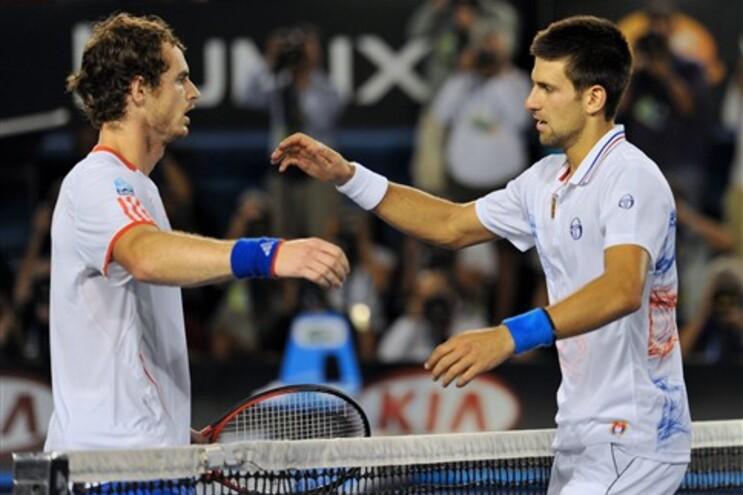 Andy Murray e Novak Djokovic