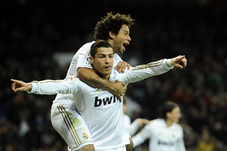 Ronaldo marcou um dos golos do Real