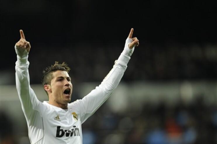 Cristiano Ronaldo marcou três golos e soma já 27 na Liga Espanhola