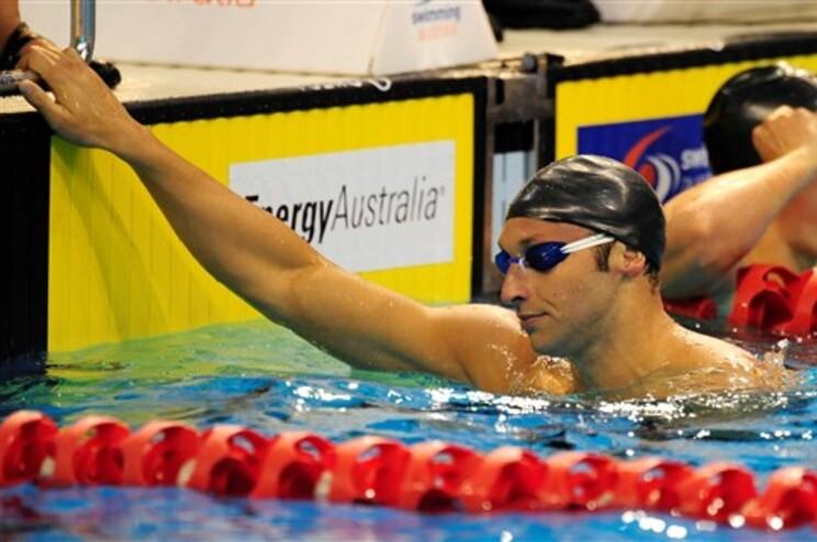 Ian Thorpe regressou à competição para conseguir estar nos Olímpicos de Londres