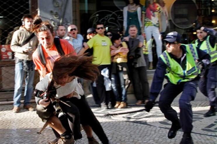 A agressão à reporter da AFP Patrícia de Melo Moreira