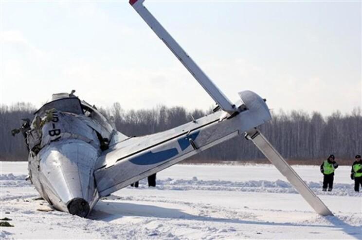 Novo balanço de queda de avião na Sibéria indica 31 mortos