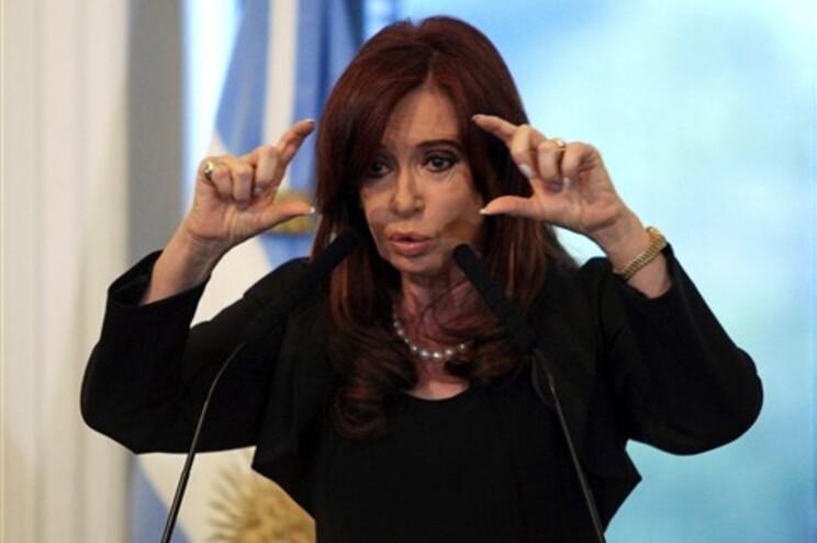 Cristina Fernandez de Kirchner, presidente da Argentina
